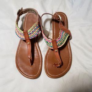 Multicolored Flip Flops
